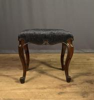 Useful Victorian Rosewood Stool (9 of 11)
