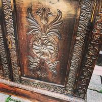 Carved Oak Adjustable Bookcase (6 of 12)