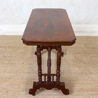 Library Desk Writing Table Mahogany 19th Century (13 of 13)