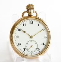 1920s Bernex Stem Winding Pocket Watch