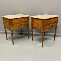 Set of 4 French Marble Top Side Tables (9 of 11)