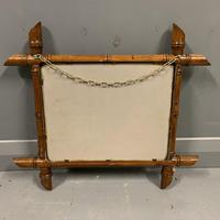 Small French faux bamboo mirror (2 of 5)