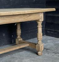 French Bleached Oak Farmhouse Kitchen Table (21 of 25)
