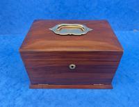 Victorian Walnut Jewellery Box c.1900 (2 of 13)