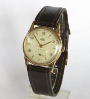 Gents 9ct Gold Derrick Wrist Watch, 1953