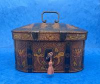 19th Century Arts And Crafts Scandinavian Birch Box (3 of 12)