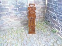 Arts & Crafts Carved Oak Book Rest (12 of 13)