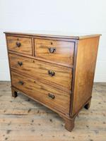 Edwardian Crossbanded Mahogany Chest of Drawers (8 of 9)