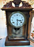 Rare 1895 Japanese Striking Shelf Clock by Takara (3 of 6)