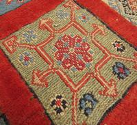 Superbly Colourful Antique Rahra Rug, Kilim Rug (10 of 13)