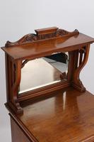 Victorian Arts & Crafts Walnut Cabinet (9 of 13)