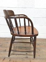 Antique Smoker's Bow Chair (8 of 9)