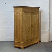 Large Antique Pine Wardrobe c.1900 - Dismantles (3 of 4)