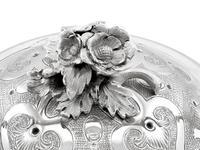 Sterling Silver Spirit Kettle - Antique Victorian (1866) (8 of 15)