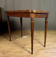 Superb French Rosewood Fold-over Top Card Table (7 of 14)