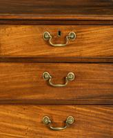 George III Period Mahogany Straight Fronted Chest of Drawers (3 of 3)