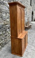 Antique Victorian Pine Shelved Larder Cupboard (5 of 19)