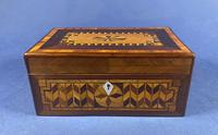 Victorian Rosewood Box With Inlay (5 of 17)