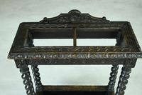 Victorian Carved Oak Stick Stand (7 of 10)