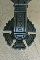 Original Aesthetic Movement Kenrick 405 Christopher Dresser Cast Iron Door Knocker c.1877 (6 of 10)