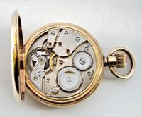 Antique Syren Full Hunter Pocket Watch (2 of 6)