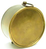French Drum Carriage Clock Rare Enamel Dial Drum Case Mantel Clock Platform Balance (5 of 8)