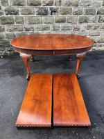 Antique Mahogany 9ft Wind Out Extending Dining Table (2 of 14)
