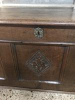 17th Century Beautiful Oak Coffer (7 of 10)