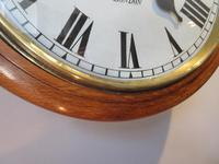 Antique Single Fusee London Wall Clock (4 of 7)