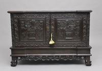 19th Century Chinese Carved Cabinet (6 of 12)