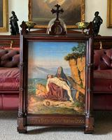 Pair of 19th Century Religious Old Master Oil Paintings - Set of 14 Available (20 of 32)