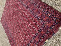 Antique Afghan Beshir Carpet (7 of 11)