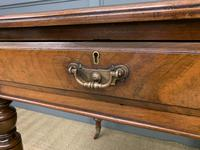 Victorian Walnut 2 Drawer Writing Table (10 of 14)