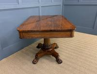 William IV Rosewood Library Centre Table (9 of 18)