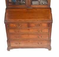 George III Bureau Bookcase Antique 1790 Desk (3 of 14)