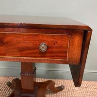 Beautiful Victorian Mahogany Antique Sofa Table (3 of 8)