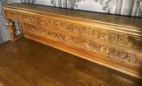 Quality Carved Oak Sideboard (3 of 14)