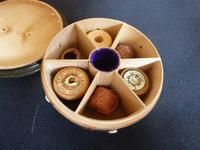 McPherson Tartenware Thread Box with six apertures (3 of 5)