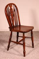 Set of 10 Windsor Wheelback Chairs 19th Century -  England (10 of 11)