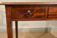 George III Mahogany Side / Dressing Table (2 of 9)