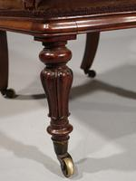 Shapely Mid 19th Century Rosewood Armchair (5 of 5)