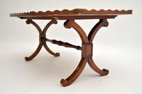 Antique Yew Wood Oyster Veneer Coffee Table (5 of 7)