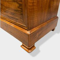 Figured Walnut & Marble Top Commode (10 of 16)