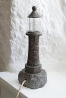Cornish Serpentine Lighthouse Table Lamp (4 of 10)