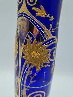 Antique Bohemian Glass Vase (3 of 9)