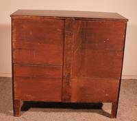 Bowfront Chest of Drawers Early 19 Century in Mahogany from England (6 of 11)