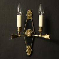 French Pair Of Empire Antique Wall Lights Oka (2 of 10)