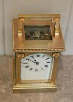 French Gilt Brass Carriage Clock (12 of 12)