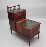 19th Century mahogany library steps (6 of 11)