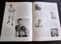 1958 Boxing Programme  For Eddie Machen Vs Ingemar Johansson September 14th Sweden (3 of 4)
